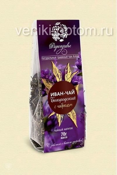 Чайный напиток Иван чай «Богородский с чабрецом» 70гр.
