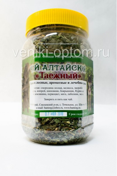 Чай «Алтайский Таежный»,190гр