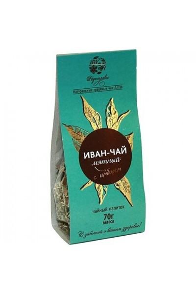 Чайный напиток Иван чай «Мятный с имбирем» 70гр.