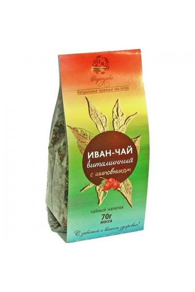 Чайный напиток Иван чай «Витаминный с шиповником» 70гр