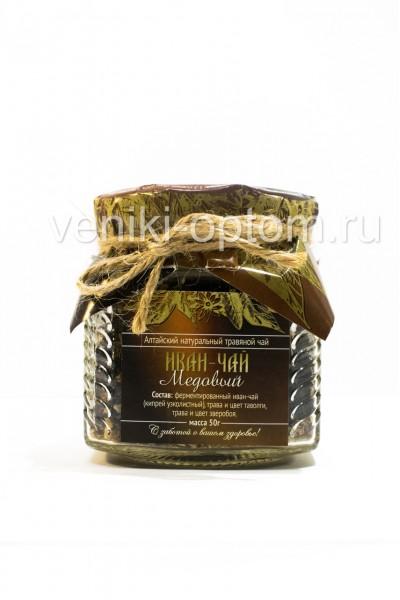 Иван чай «Медовый» 50гр (стекло)