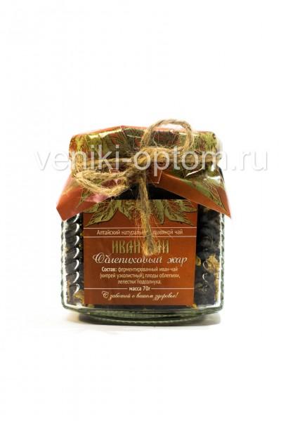 Иван чай «Облепиховый жар» 70гр (стекло)