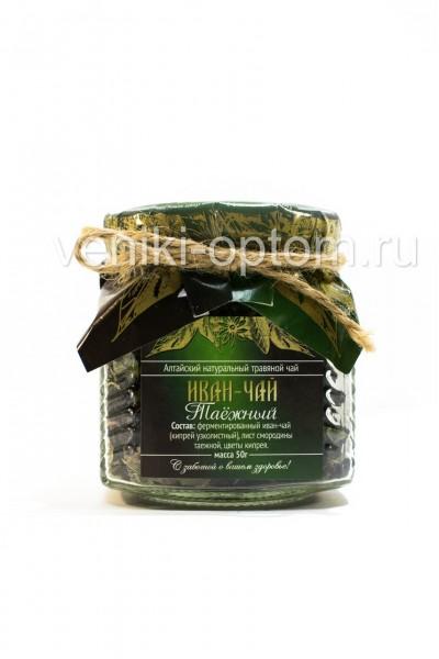 Иван чай «Таежный» 50гр (стекло)