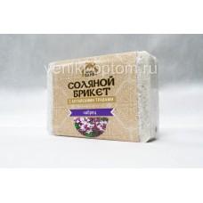 Соляной брикет «Соляная баня с алтайскими травами Чабрец»
