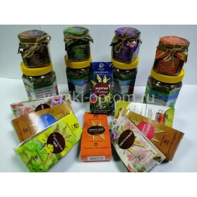 Алтайские травяные чаи