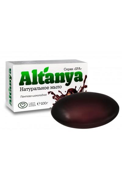 Натуральное мыло пантово-шоколадное