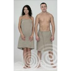 Парео-юбка льняная для женщин