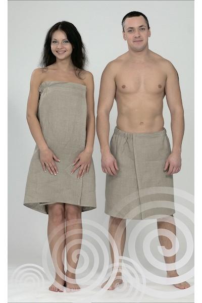 Килт-юбка мужская льняная